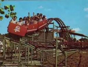6e6bcb5314a79c A small oval coaster manufactured by Allan Herschell